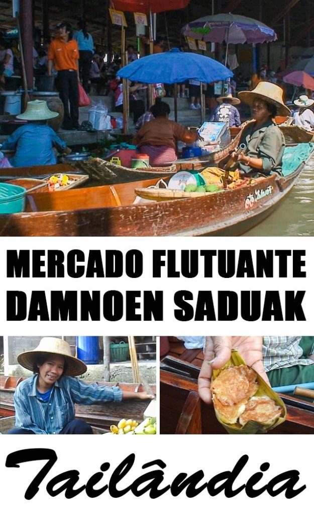Viagem para Tailândia: Conhecendo o mercado flutuante de Damnoen Saduak, a 1,5 hora de Bangkok