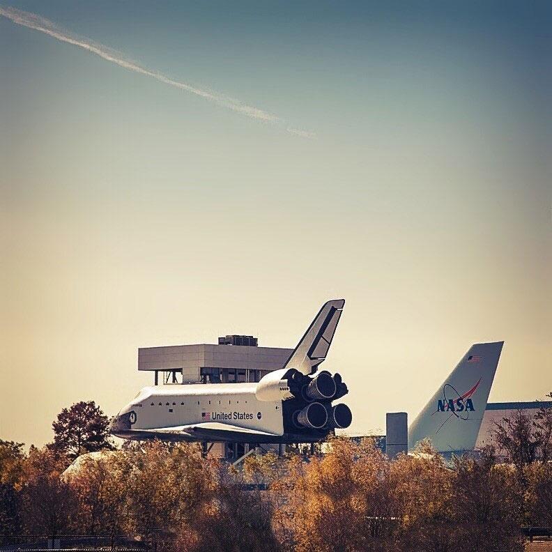 NASA's Space Center Houston in Texas