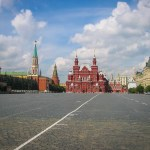 Red Square, in Moscow