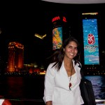 Night cruise on the Huangpu River in Shanghai