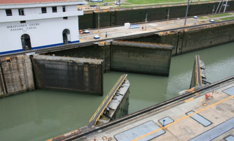 Visiting the Panama Canal