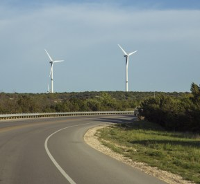 Driving in West Texas