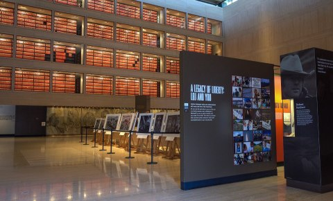 LBJ Library and Museum in Austin, Texas