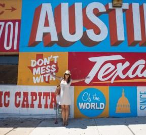 Downtown Austin Art Wall