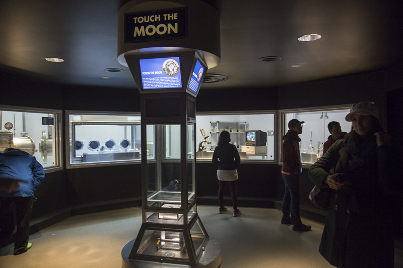 Space Center Houston - NASA - Touch the Moon