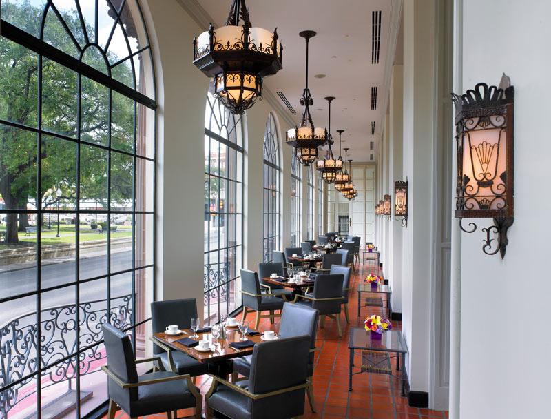 Luxuoso hotel St Anthony de San Antonio, nos EUA