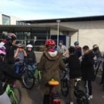 Der Frühling kommt - die Klassen 6c und 6d fahren wieder Rad