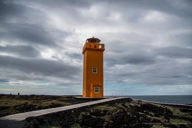 The Skalasnagi Lighthouse. Nikon D810, 24 mm (24-120.0 mm ƒ/4) 1/800 sec ƒ/4 ISO 64