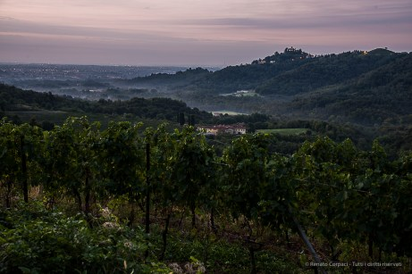 """H:06:55:28. The Galbusera Bianca Estate with the Montevecchia Sanctuary in perspective. Nikon D810, 50mm (24-120.0mm ƒ/4) 8"""" ƒ/8 ISO 64"""