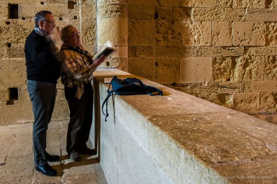 Two visitors testing the Cathedral acoustics. Nikon D810, 24mm (24 mm ƒ/1.4) 0,5 sec ƒ/5.6 ISO 800