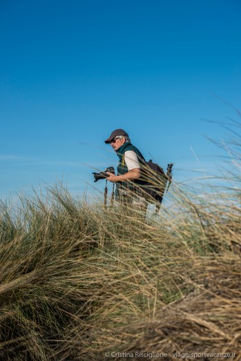 The author on field. Camargue 2015.