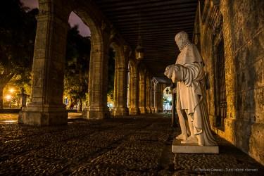 """Palacio des los Capitanes Generales. Nikon D810, 24 mm (24-120.0 ƒ/4) 4"""" ƒ/4 ISO 400."""