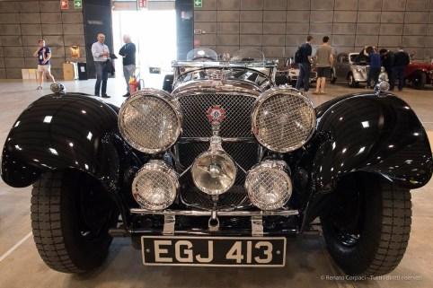 "A beautiful 1937 Jaguar SS100. Nikon D810, 20 mm (20,0 mm ƒ/1.8) 1/100"" ƒ/5 ISO 3200"