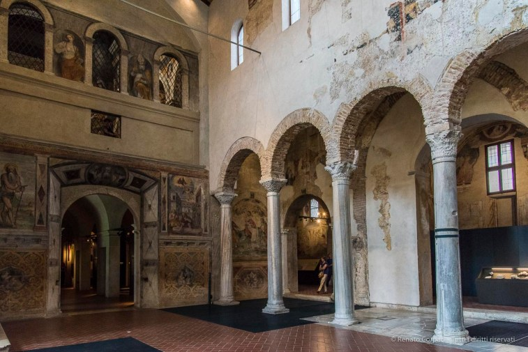 "Church of San Salvatore. Nikon D810, 24 mm (24-120.0 mm ƒ/4) 1/320"" ƒ/5.6 ISO 3200"
