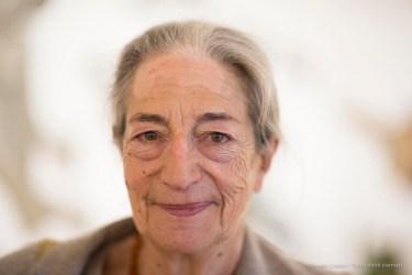 "Roberta Cerini Baj, widow of artist Enrico Baj. November 2016. Nikon D750, 85 mm (85 mm ƒ/1.4) 1/160"" ƒ /1.4 ISO 250"