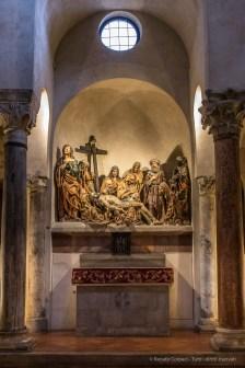 "Milano, chiesa di Santa Maria in San Satiro. ""Lament Over The Corps of Christ"" (1483) by Agostino De Fundulis Nikon D750, 24 mm (24.0 mm ƒ/1.4) 1/8"" ƒ/8 ISO 3200"