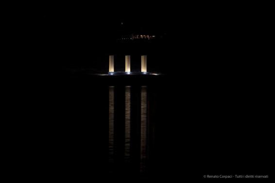 """The Sky Over Nine Columns"". Sankt Moritz, December 10th 2016. Nikon D810, 200 mm (70-200 ƒ/2.8) 1/400"" ƒ/5.6 ISO 400"