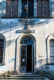 "Volterra, formerly the psychiatric asylum, Charcot Pavillion. January 2017. Nikon D810, 24 mm ( 24-120.0 mm ƒ/4) 1/40"" ƒ/8 ISO 64."