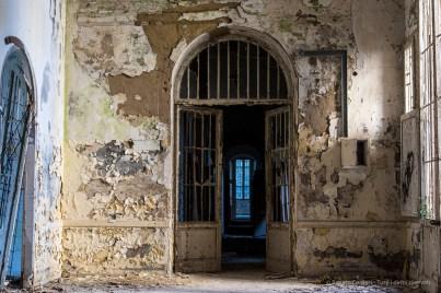 "Volterra, formerly the psychiatric asylum. January 2017. Nikon D810, 55 mm (24-120.0 mm ƒ/4) 1"" ƒ/8 ISO 64."