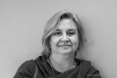 "Maria Giuseppina Di Monte, co-curator Meret Oppenheim's exhibit. Lugano February 2017. Nikon D810, 85 mm (24-120 mm ƒ/4) 1/80"" ƒ/8 ISO 640"