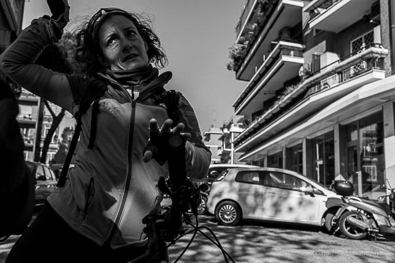 A cyclist showing us the way through the Tenuta di Tor Marancia, in the outskirt of Rome. Nikon D810, 35 mm (35.0 mm ƒ/2) 1/250 ƒ/8 ISO 110