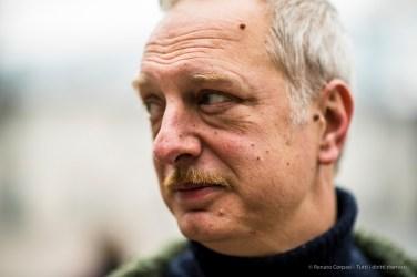 "Antonio Scurati, author. Milano, February 2018. Nikon D810, 85 mm (85.0 mm ƒ/1.4) 1/320"" ƒ/1.4 ISO 800"