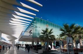 Museo Alborania, El palmeral de las sorpresas, Malaga, Pensilina del molo 1, Nikon D300, 11mm (11-16mm ƒ/2.8) 1/640 ƒ8 ISO 200