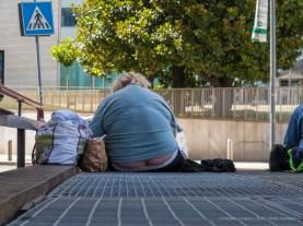 Homeless person, Milano 2016. Canon Powershot G1 X , 60,4 mm (15.1-60.4 mm ƒ/2.8-5.8) 1/160 ƒ/5.8 ISO 200