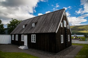 Laxdalshús is the oldest house in Akureyri, dating back to 1795. Nikon D810, 78 mm (24-120.0 mm ƒ/4) 1/200 sec ƒ/8 ISO 200