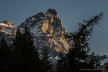 The Matterhorn at dawn. Nikon D810, 85mm (85.0mm ƒ/1.4) 1/125 ƒ/5.6 ISO 64