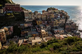 Manarola from the Love Trail. Nikon D810, 24mm (24 mm ƒ/1.4) 1/200 sec ƒ/8 ISO 64