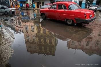 "A vintage car in the old town. Nikon D810, 24 mm (24-120.0 ƒ/4) 1/1000"" ƒ/5 ISO 1250."