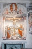 """Crocifissione affrescata nel 1487, forse opera di Giovanni De Tornelli. Nikon D810, 85 mm (85 mm ƒ/1.4) 6,0"""" ƒ/9 ISO 64"""