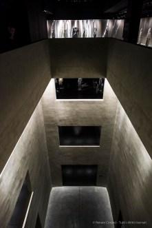 """Stairways to the upper floors. Nikon D810, 24 mm (24.0 mm ƒ/1.4) 1/500"""" ƒ/2.8 ISO 3200"""