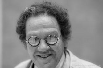 "Philippe Daverio, Art Historian, Academic, Author. Milano, November 2016. Nikon D750, 85 mm (85.0 mm ƒ/1.4) 1/60"" ƒ/2 ISO 3200"