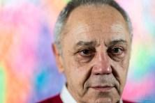 "Gianni Mercurio, art critic, curator of exhibit ""Keit Haring, February 2017. About Art"". Nikon D810, 85 mm (85.0 mm ƒ/1.4) 1/320 ƒ/1.4 ISO 1600"