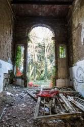 "Volterra, former psychiatric asylum, Charcot Pavillion. January 2017. Nikon D810, 24 mm (24-120.0 mm ƒ/4) 0.6"" ƒ/8 ISO 64."