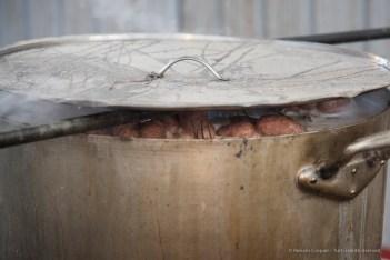 """The """"Fagiolata del Castellazzo"""" in Piazza Maretta on Sunday during Carnival. Nikon D810, 120 mm (24-120 mm ƒ/4) 1/60"""" ƒ/4 ISO 800"""