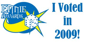 Ennies 2009: I voted