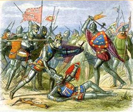 Scène de bataille