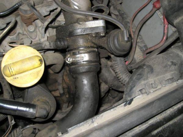 Снятие генератора на Renault Megane 2 19dci