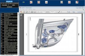Электрическая схема (VISU) Renault Wiring Diagrams для