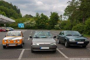 """Siegerehrung der """"Oldtimer"""" beim Treffen des Renault Team Oberberg"""