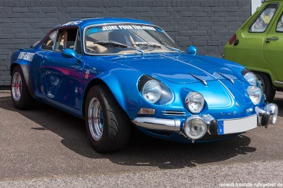 Alpine A110 beim 20. Renault Oldie Treffen in Mechernich