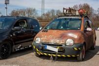 Renault Twingo 1 bei der Saisoneröffnung der TFNRW in Oberhausen