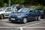 Renault Clio 1 16V beim Treffen des Renault Team Oberberg in Gummersbach