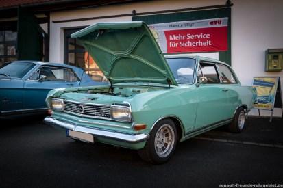 Opel Rekord B beim Oldtimer-Treffen in Bergkamen (Februar 2017)
