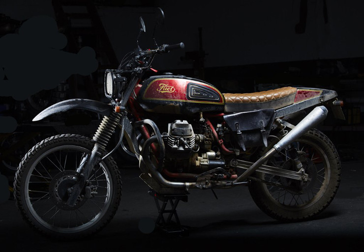 FUEL Bespoke Motorcycles Moto Guzzi Scrambler | CustomBike.cc
