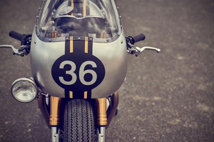 Triumph Thruxton R | Barbour International | CustomBIKE.cc
