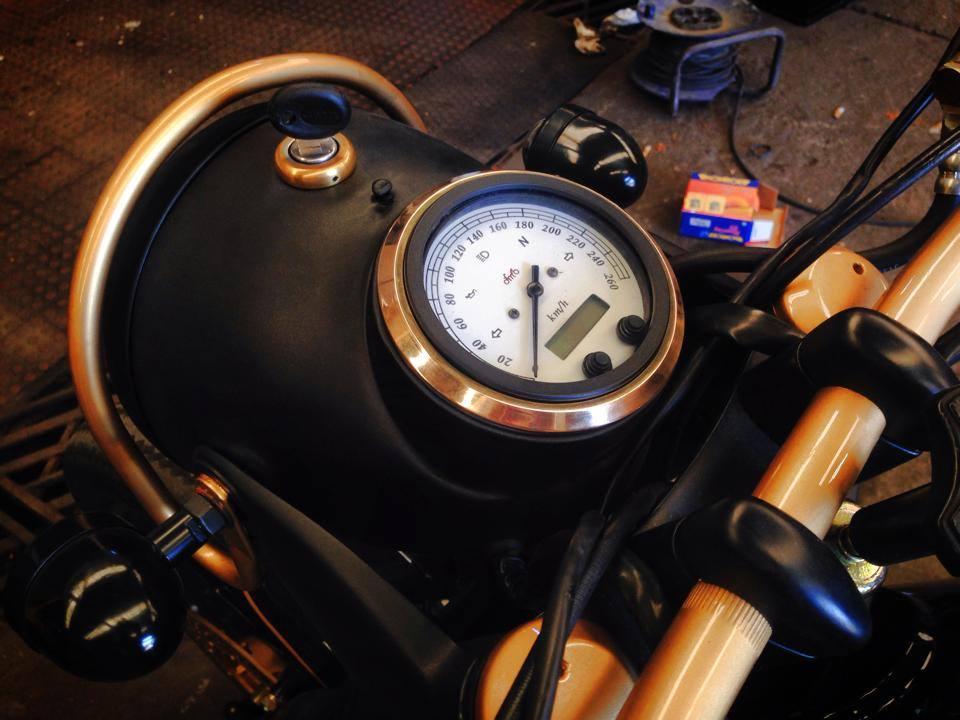 Dream Wheels BMW 'Copper' 4 | CustomBike